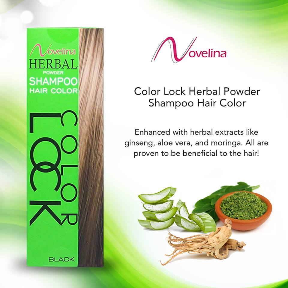 Color Lock Herbal Powder Hair Color – P90 00 | Novelina