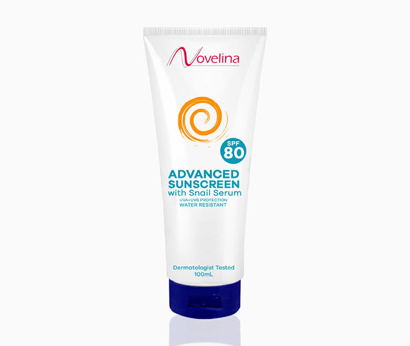 Novelina Advanced Sunscreen SPF80 – P240