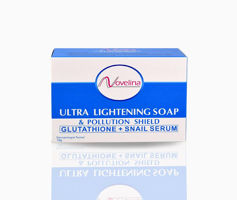 Novelina Ultra Lightening Snail Soap – P63.00