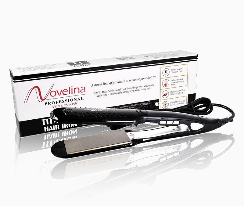 Novelina TITANIUM Hair Iron – P3,250.00
