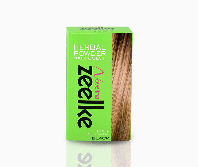 Novelina Zeelke Herbal Powder Hair Color – Pack of 6pcs – P137.00