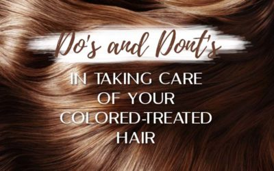 Tips for your Colored-Treated Hair